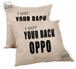Oppos back Cushion